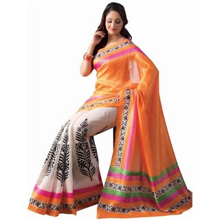 Saree Exotica Multicolor Bhagalpuri silk casual saree SAR10261A