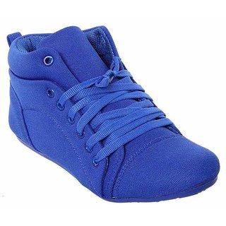 iLiv Womens Blue Lace-up Smart Casuals Shoes