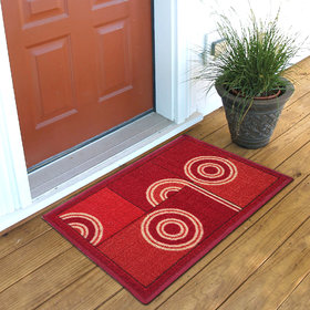 Status Red Nylon Door Mat ( 15X22 Inch)