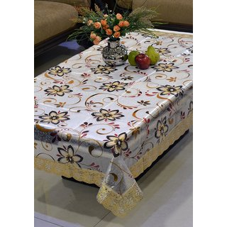 FREELY 3-D PRINTED DINING TABLE COVER FOR 8 SEATERS - 415B