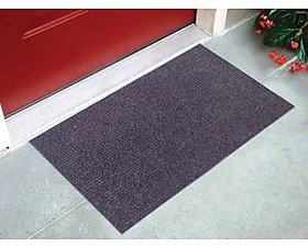 Black Door Mat ( 15X22 Inch)