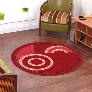 Status Red Nylon Rugs ( 12X12 Inch)