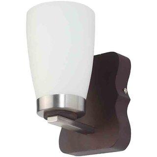 LeArc Designer Lighting Contemporary Glass Metal Wood Wall Light WL1504