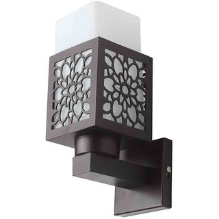 LeArc Designer Lighting Contemporary Glass Metal Wood Wall Light WL1813