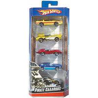 Hot Wheels Hw Basic 5 Cars Gift Pack Assortment
