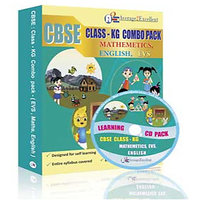 A2E Cbse Class Kg Combo Pack (English, Maths, Evs)