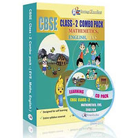 A2E Cbse Class 2 Combo Pack (English, Evs, Mathematics)
