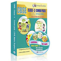A2E Cbse Class 3 Combo Pack (English, Evs, Mathematics)
