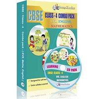 A2E Cbse Class 4 Combo Pack (English, Evs, Mathematics)