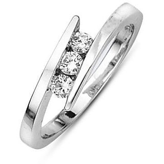 Certified 0.06 Cts. Real Natural Diamond Ring (Design 3)