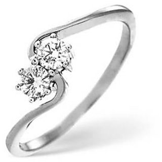 Certified 0.10 Cts. Real Natural Diamond Ring For Wedding