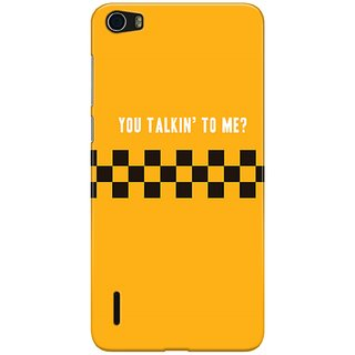 The Fappy Store Taxi-Driver Hard Back Case Cover For Honor 6