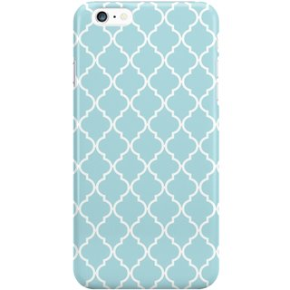 The Fappy Store Moroccan Trellis Plastic Back Cover For Iphone 6 Plus