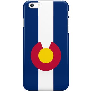 The Fappy Store Smartphone Case - State Flag Back Cover For Iphone 6 Plus