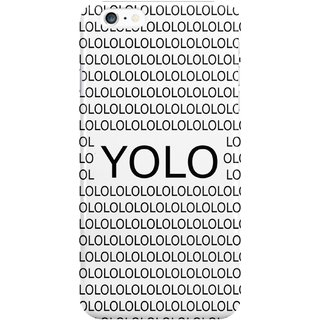 The Fappy Store Yolololo Plastic Back Cover For Iphone 6 Plus