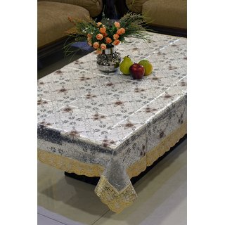 FREELY 3-D PRINTED DINING TABLE COVER FOR 8 SEATERS - 425B