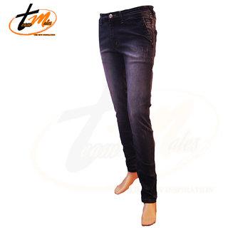 Men's Slim Fit Black Jeans