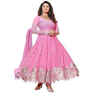 FC42-Pink Exclusive Designer Salwar Kameez