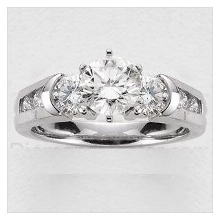 Certified 1.80 Cts. Real Natural Diamond Ring For Engagement