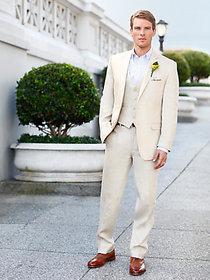 Pure Linen Men's Suit
