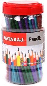 Nataraj Marble Finish Pencils Jar ( Jar of 100 pencil)