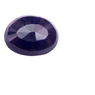 Akash Ganga Original 7.25 Ratti Blue Sapphire (Neelam), Super Delux Category