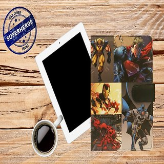 10 am Superheroes iPad cover