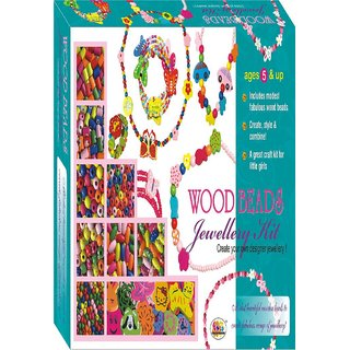 Ekta Wood Beads Jewellery Kit (Sr) Fun Game