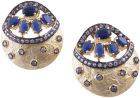 Blue Victorian Earrings