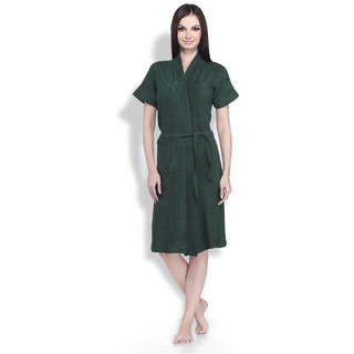 Sand Dune Bathrobe Bottle green