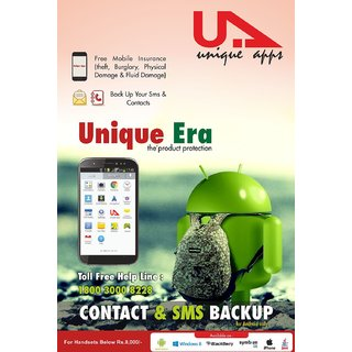 Unique Apps Solutions - Mobile Insurance For Handsets Below 10,000/- Only