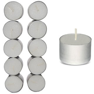 Tea Light Diyas - Pack of 10 Long Burning  Diyas (9 Hrs)