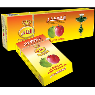 AL FAKHER Two Apple Flavour Imported Arabian Flavour for Hookah 500 Gm PackOf 10
