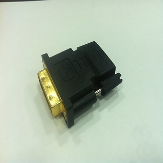 DVI Male To HDMI Female Adapter Gold-Plated M F Converter For Desktop And HDTV