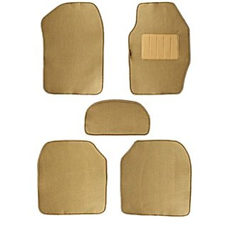 Takecare Car Foot Mat Stallion (Set Of 5) For Fiat Punto Evo