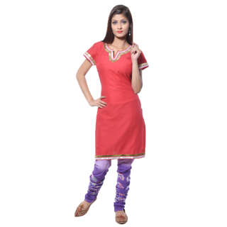 Nitara Readymade Tunic -Red