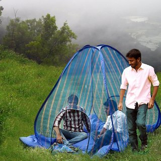 UNIQUE- BIG SIZE FOLD ABLE MOSQUITO NET - BEST FOR HOME/ TRAVEL /OUTING PURPOSE