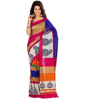 STM-Cotton-2A Fancy Exclusive Cotton Saree Traditional Latest Multi Color Sari