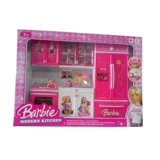 Buy Kids Barbie Kitchen Set Online Get 45 Off