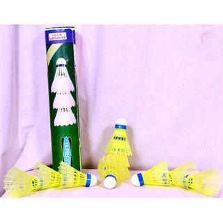 Badminton Shuttles - 10 pcs