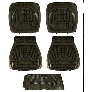 Takecare Rubber Floor Mat For Scoda Superb New 2014-2015