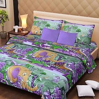 Akash Ganga 100 Pure Cotton BEDSHEET