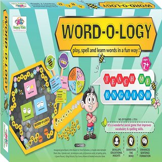 Kids Board Game Word o Logy Kids educational Board Game
