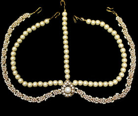 Zaveri Pearls Exotic Rajasthani Matha Patti-ZPFK2918