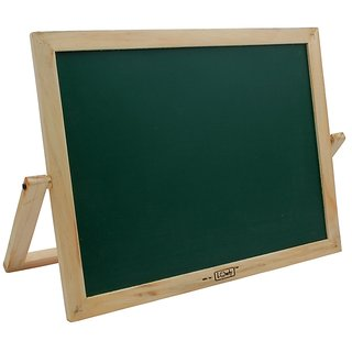 Wooden Chalk Cum Marker Green Board