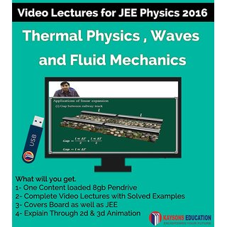 Kaysons Fluid Mechanics and Thermal Physics Video Lectures for JEE Mains