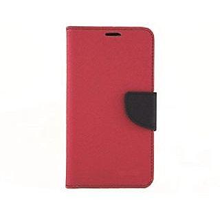 Steel Plus Samsung Galaxy Mega 58 Wallet Case Cover - Pink