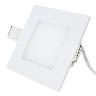 Bene LED 3w Squire Panel, Color Of LED White (Pack of 1 Pc.)
