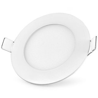 Bene LED 6w Round Panel, Color Of LED Warm White (Pack of 1 Pc.)