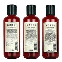 Khadi Satritha Shampoo pack of 3, 630ml